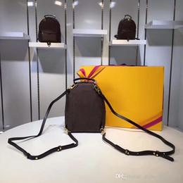 $enCountryForm.capitalKeyWord Australia - Hot Mini Style students women backpacks genuine leather trendy handbag backpack for ladies girl bags 3 sizes mini 15*22*9cm M 21x31x10cm