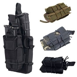 Molle pouches accessory online shopping - Universal Tactical equipment pocket Nylon Made Durable Molle accessory bag Tactical Waist pack Mag Pouch bags K215