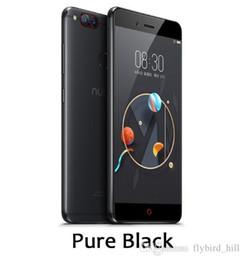 Mini Phones Sim Australia - Global Firmware ZTE Nubia Z17 Mini 4GB 6GB RAM 64GB ROM Mobile Phone Snapdragon652 Cellphone Dual Rear Cameral FDD LTE 4G NFC