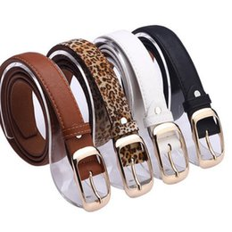 $enCountryForm.capitalKeyWord Australia - 2019 New PU Leather Belt Women Pin Buckle Belts Black Leopard Belt Strap Waist Belts Women Jeans Pants