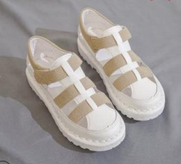 $enCountryForm.capitalKeyWord NZ - Women's Wedge Mesh Shoes New 2019 Fashion Women Mesh Breathable Platform Wedge Heels Shoes Casual Rome Summer Sandals Women