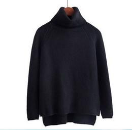 $enCountryForm.capitalKeyWord UK - 2019 New Web celebrity sweater women's turtleneck pullover sweater temperament base coat languid breeze spring and autumn coat