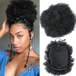 Discount Afro Puff Hair Afro Puff Human Hair 2019 On Sale At
