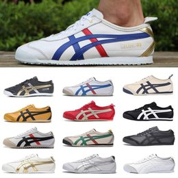 bruce lees shoes 2019 - NEW 2019 Tiger Bruce lee Flat Onitsuka Running Shoes Mens And Womens Comfortable Leather Zapatillas Athletic Outdoor Spo