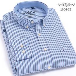 $enCountryForm.capitalKeyWord Australia - High Quality Striped Men French Cufflinks Casual Dress Shirts Long Sleeved White Collar Design Style Wedding Tuxedo Shirt