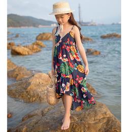 $enCountryForm.capitalKeyWord NZ - Vacation Backless Holiday Vacation Big Girls Dresses Beach Casual Teenager Kids Dress Children's Clothing