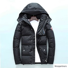 winter parka jackets for men Australia - 20FW North BrandS MANs design Down Jackets Winter Coat BrandS Parkas For MAN Windbreaker With Letters Luxury Outdoorwear Clothing wholesale