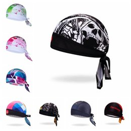 bicycle pirate headscarf NZ - 2019 Cycling Cap Head Scarf Men Women Bike bicycle MTB hats Sports Running Bandana Headscarf Ciclismo Pirate Hat Headband Skull