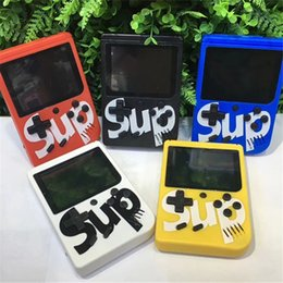 Md Portable Game Australia - SUP Mini Handheld Game Console Sup Plus Portable Nostalgic Game Player 8 Bit 129 168 300 400 in 1 FC Games Color LCD Display Game Player