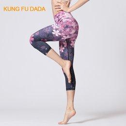 $enCountryForm.capitalKeyWord Canada - Kfdd Stretch Yoga Pants Women High Waist Print Sports Legging Fitness Gym Running Trouser Quick Dry Sport Women Fitness Leggings C19040301