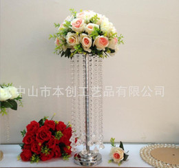 $enCountryForm.capitalKeyWord Australia - Original Wedding Props 69 CM Ferris Wheel Road Lead Spiral Crystal Road Guide 8265 For Wholesale Factory Direct Wholesale