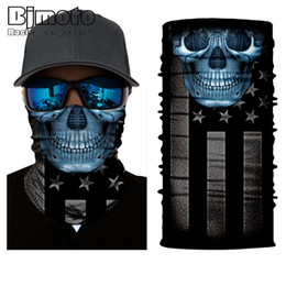 $enCountryForm.capitalKeyWord Australia - 10pcs lot Cool Skull Mouth Windproof Mask Ski Caps Bike Motorcycle Balaclavas Scarf Ski Mask Bandana Balaclava Hunting Fishing