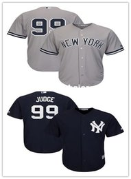 $enCountryForm.capitalKeyWord Australia - Cheap Custom Men's Aaron Judge Gray Black Cool Base Player jerseys Stitched Retro Mens jerseys Customize any name number