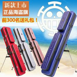 Cartoon Shock NZ - 1.25M Anti-drop anti-shock, pc material stainless steel bracket hard shell fishing rod bag fishing tackle bag only silver color #250783