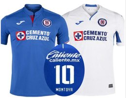 c91ba45360d White Away Short Canada - 2019 2020 Cruz Azul home blue soccer jerseys  adult s a+++ thai