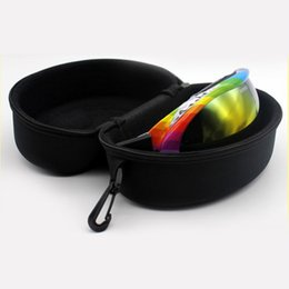 sunglasses snowboard Australia - Adult Children Snow Ski Eyewear Case Water Resistant Portable Snowboard Skiing Goggles Sunglasses Carrying Case Zipper Hard Box