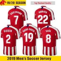 88f7ed51c41 19 20 Atletico Madrid Soccer Jerseys GODIN 2019 2020 LEMAR GRIEZMANN  Football Shirt CORREA MORATA Soccer Shirt SAUL DIEGO COSTA Kids Jersey