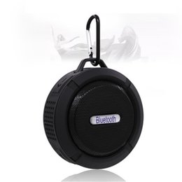 Min Cards UK - 2019 C6 Waterproof Bluetooth Speaker Portable Shower wireless min Speakers car drive Mic Removable Suction Cup for iphone goophone