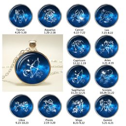 gemini chain 2019 - Constellation Necklace Zodiac Jewelry Astrological Sign Gemini Birthday Jewelry Gemini Horoscope Pendant Choker Necklace