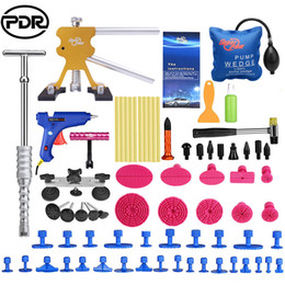 pdr dent tool 2020 - PDR Tools Paintless Dent Removal Car Repair Kit Auto Repair Tool Set Slide Hammer Dent Lifter Suction Cups For Dents che
