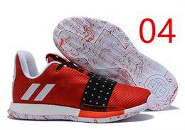 b795f55c1688 Men James Harden Shoes Canada - hot Harden Vol. 3 MVP Basketball Shoes Men  Red