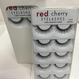 $enCountryForm.capitalKeyWord Australia - Red Cherry 3D False Eyelashes 5 Pairs pack 8 Styles Natural Long Professional Makeup Big Eyes High Quality 3001224