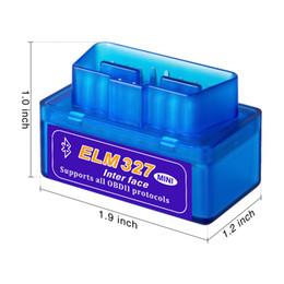 $enCountryForm.capitalKeyWord Australia - HOT!!automotriz Mini V2.1 ELM327 OBD2 ELM 327 Bluetooth Interface Auto Car Scannerobd diagnostic scanner for car automotive scanner