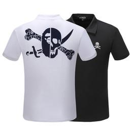 Fashion Polo Mens Tops NZ - fashion Brand luxury Mens Polo T Shirts Designer Black White Mens Fashion Designer T Shirts Top Short Sleeve Polo shirt