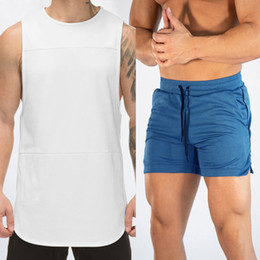 Musculation Men online shopping - Fashion Casual Gym Clothing Bodybuilding Workout Mesh Tank Top Men Musculation Fitness Singlets Sleeveless Vest Muscle Shirt Men