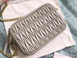 $enCountryForm.capitalKeyWord Australia - New small square bag trend fashion chain hand strap shoulder Classic jacquard embossing sheepskin Messenger bag