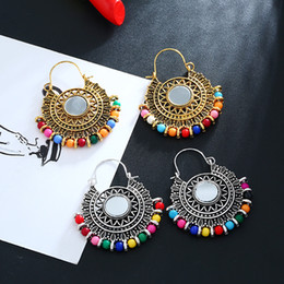 $enCountryForm.capitalKeyWord NZ - Free DHL 201907 Bohemian National Style Earrings Vintage Personalized Earrings Women Fashion Jewelry Christmas Gift 2 Colors M016F