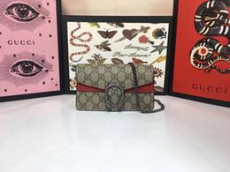 Double hanDbags online shopping - 2019 fashionable men andwomen G bag leather top1 quality single shoulder bag double shoulder bag handbag model size cm10cm4 cm