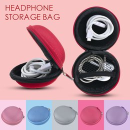 $enCountryForm.capitalKeyWord Australia - LASPERAL Mini Zipper Portable Headphone Box Canvas Earphone Storage Box USB Cable Organizer Coin Purse Carrying