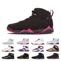 $enCountryForm.capitalKeyWord Australia - Luxury 7s Patta Basketball Shoes 7 Ray Allen Bordeaux Reflections of A Champion Fadeaway Hare Olympic Mens Trainer Designer Sneaker