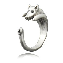 $enCountryForm.capitalKeyWord UK - Hot Sale Lucky Animal Ring Fashion Jewelry For Ladies And Girls Pig Rings For Woman Unique Gift