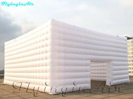 Marquise inflável de 8m / tenda inflável do cubo para exposição e advetisement em Promoção