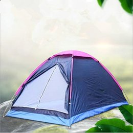 $enCountryForm.capitalKeyWord NZ - Double Person Tent Single Layer Shelters Beach Park Camping Shelters Tents Rain Proof Oxford Cloth Portable Tents Outdoor Family Tent LT819