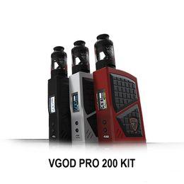 $enCountryForm.capitalKeyWord UK - VGOD PRO 200 Kit 200W BOX MOD 5ml Large Capacity Subohm Tank Atomizer Electronic Vape Cigarette Starter Kit