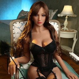 Free sex liFe doll online shopping - New cm high quality Japanese silicone sexy doll with Big chest full size sex dolls realistic vagina love doll for men