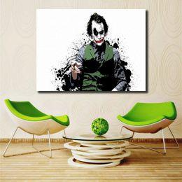 Batman Art Prints Australia - Batman Joker Wallpapers HD Wall Art Canvas Poster And Print Canvas Painting Decorative Picture For Modern Living Room Home Decor