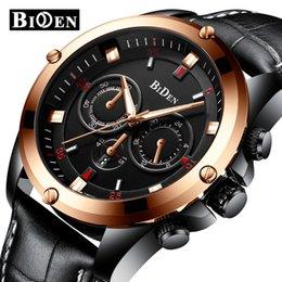 $enCountryForm.capitalKeyWord Australia - BIDEN Fashion Mens Watches Casual Waterproof Business Watch Men Leather Strap Quartz Wrist Watch Male Clock Relogio Masculino