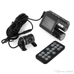 Video Blackbox Australia - Full HD 1080P Dual Lens Car DVR Dual Camera Car Video Recorder Blackbox Dash Cam Night Vision 140View Dual Lens Camcorder i1000