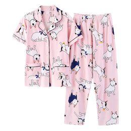 e24ed84af53d Women Pyjamas Sale Australia - Hot Sale Summer Cotton Pyjamas Girl Pajama  Sets Lovely Cartoon Sleepwear