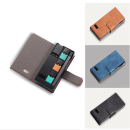 $enCountryForm.capitalKeyWord Australia - 2019 Newest Portable Charger Holder Box For COCO Juul Vape With LCD Charging Indicator 1200MAH Power Bank DHL Free