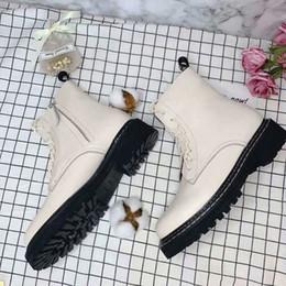 $enCountryForm.capitalKeyWord Australia - 2019 Designer Luxury Fashion womens Ladies REAL LEATHER Lace Up chunky Platform Rubber sole Rock Punk Goth MOTORCYCLE BIKER short boots
