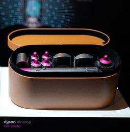 $enCountryForm.capitalKeyWord Australia - Official Fuchsia DysonAirwrap Complete Styler Hair Styling Set Pre Styling Dryer 4 Curling Barrels 2 Smoothing Brushes Volumizing Brush