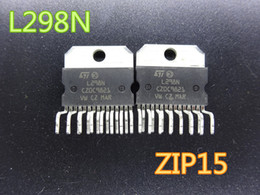 Ic Chips Wholesale Australia - 10pcs lot New Integrated Circuits L298N L298 ZIP15 Stepper motor driver chip IC   bridge driver in stock free shipping