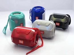 Phone Types Australia - New type of TG162 dazzling lantern portable wireless Bluetooth speaker outdoor card bass artillery gift small sound