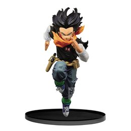 Dragonball Figure Collection Australia - No Box Dragonball Z Android No.17 Lapis BWFC Action Figure Toy Brinquedos Figurals Collection DBZ Model Gift