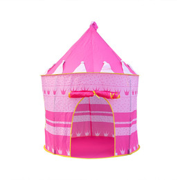 Net Games Australia - Children's Princess Tent Game House Baby Castle Indoor Game Gift Tent Folding #40